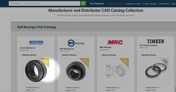HC - CAD catalogs