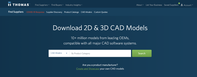 HC - Cad Models search platform