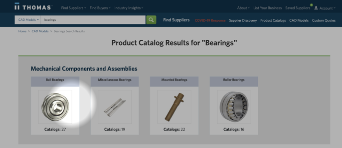 HC - cad products catalogs