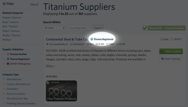 TitaniumSuppliers Thomas Registered