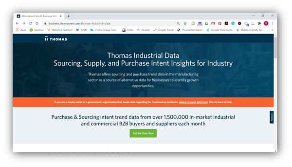 Thomas Industrial Data
